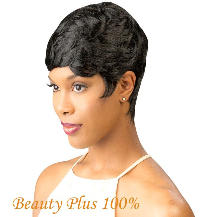 Best Seller Vogue Wig Short Black  3 styles Female Wavy Celebrity Hairstyle Fashion & Charming Style Synthetic Cheap Hair Wigs