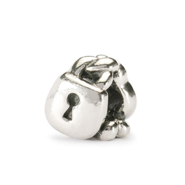 I Lucchetti dell'Amore - Questo beads rappresenta una promessa d'amore eterno. Come sul famoso Ponte Milvio, dove gli innamorati agganciano i lucchetti con le loro iniziali, per poi buttare l'unica chiave.