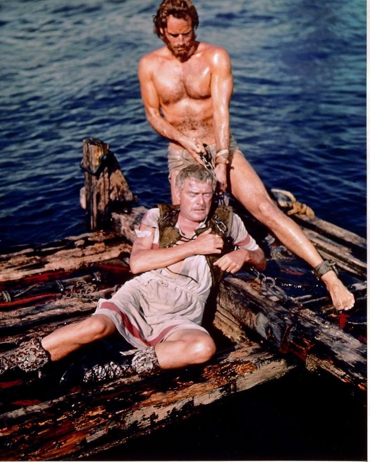 Charlton Heston & Jack Hawkins -    Ben Hur- my all time favorite movie