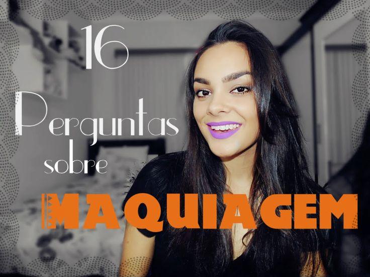 Tag: 16 Perguntas sobre maquiagem #VEDA19