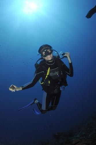 "One of the most important touristic activities propose by the Project ""Mexico Natural"" is scuba diving ;D **"