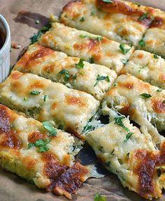 low carb high fat cauliflower cheese sticks