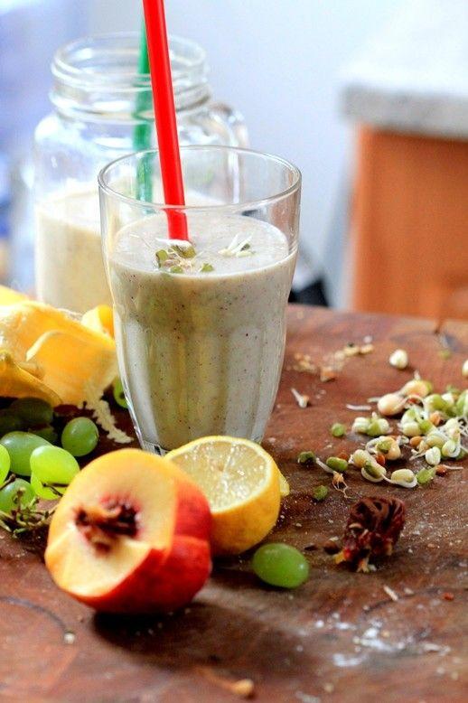 Proteínové smoothie z klíčkov