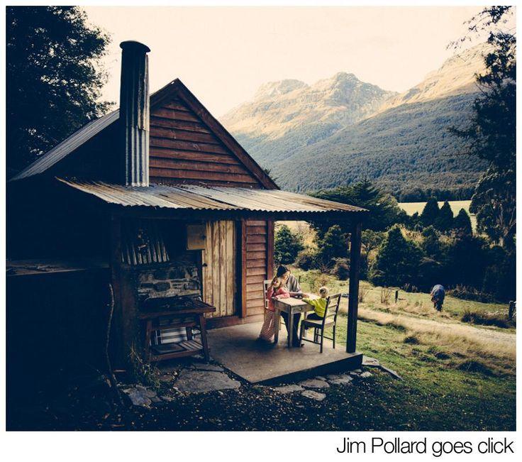 Schoolhouse in Paradise, Glenorchy.  Photo by Jim Pollard.
