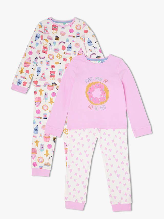 c422160b3 BuyJohn Lewis   Partners Girls  Snack Time Pyjamas