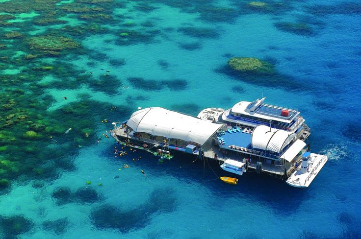 Great Adventures - Outer Barrier Reef from $224 Visit http://www.fnqapartments.com/tour-great-adventures-outer-barrier-reef/area-cairns/  #cairnstourpackages