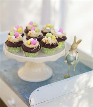 Leilas easter cupcakes