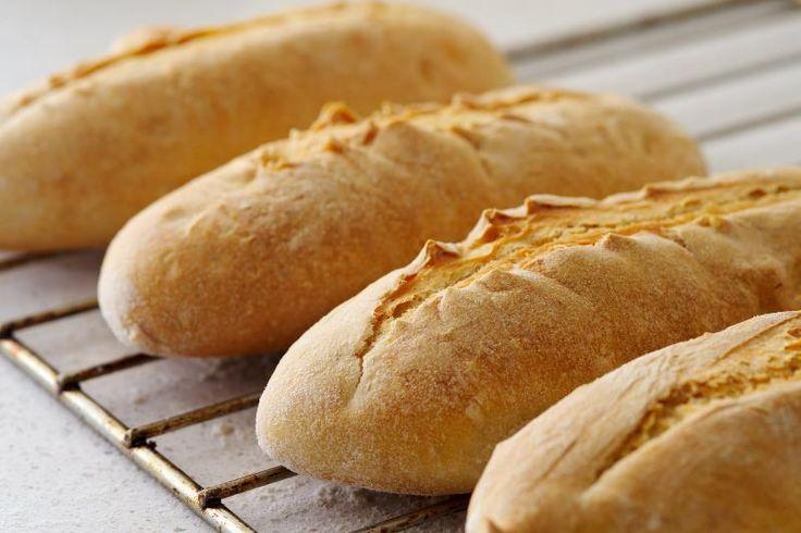 Pan de harina de arroz integral con levadura madre y sin gluten.