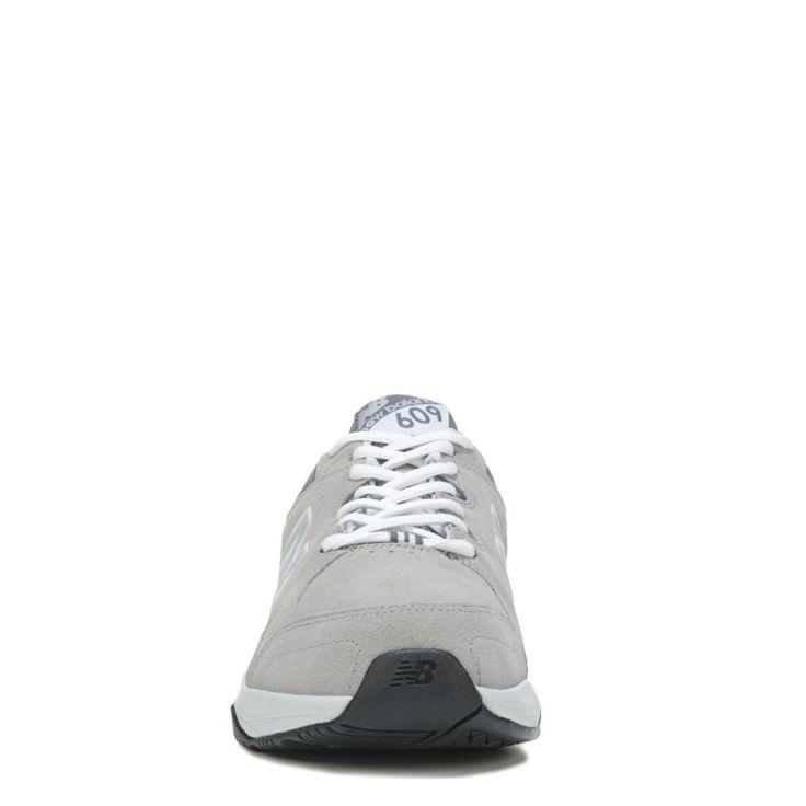 New Balance Men's 609 V3 Memory Sole X-Wide Sneakers (Light Grey) - 15.0 4E