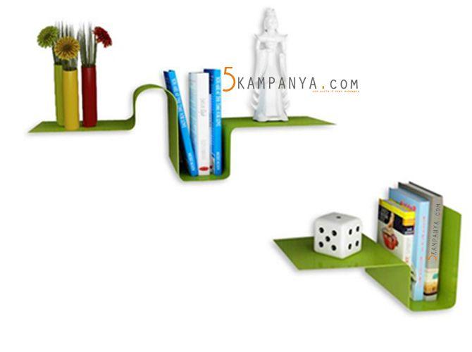 metal dekoratif kitap rafları modelleri