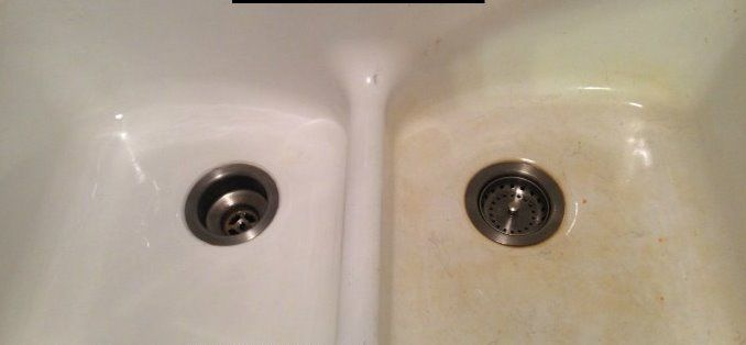 How Do You Remove Brownish Rust Stains From An Old Cast Iron Bathtub Cleaningtutorials Net Your Cleaning Solutions Cast Iron Bathtub Cast Iron Cleaning Cast Iron Tub