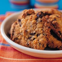 Chocolate Chunk Oat Biscuits