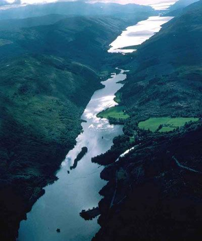 Inverness, Loch Ness & Nairn.  Drove the length of the Loch to Inverness.  C