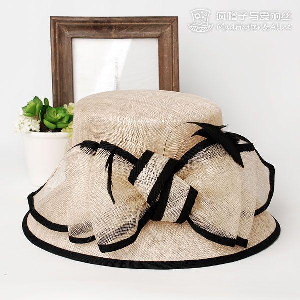 【安妮仙境】婚纱摄影配饰 进口麻 宴会礼帽子 女 疯帽子与爱丽丝-淘宝网