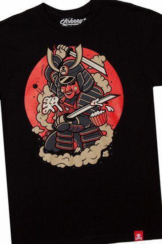 Samurai shirt |  Johnny Cupcakes