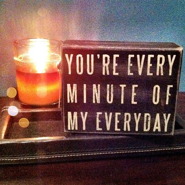 every minute of everyday. Love this song by Michael Buble