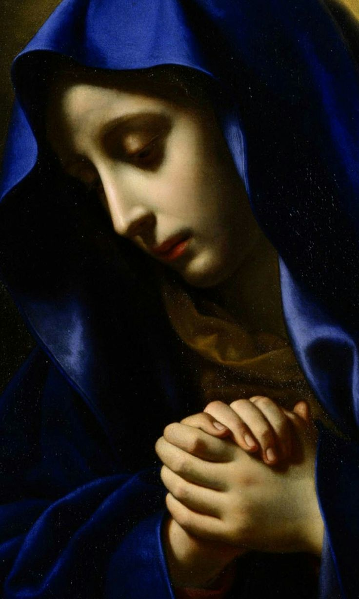 Carlo Dolci (1616–1686) Mater Dolorosa (detail) circa 1650 National Museum of Western Art