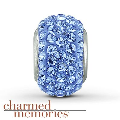 Charmed Memories® Swarovski Elements Charm Sterling Silver ~ Have it ~ love it!