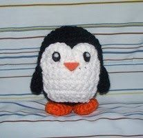I actually want someone who crochets regularly to make this for me. I have a deep love for penguin kind, but my hands are far to crusty to do this. They would be gnarled before I crocheted the first row.