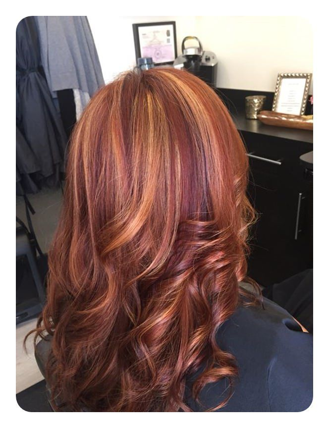 72 Stunning Red Hair Color Ideas With Highlights Red Hair With Blonde Highlights Hair Color Auburn Red Blonde Hair