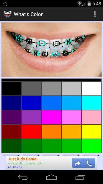 Best Colors the 25+ best braces colors ideas on pinterest | complimentary
