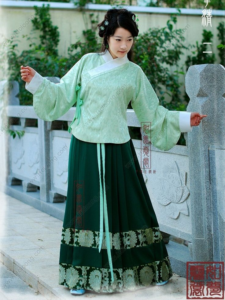 Jacket and skirt outfits Patent satin Traditional chinese ...