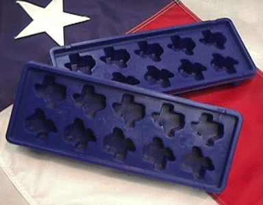 TEXAS ice cube trays!