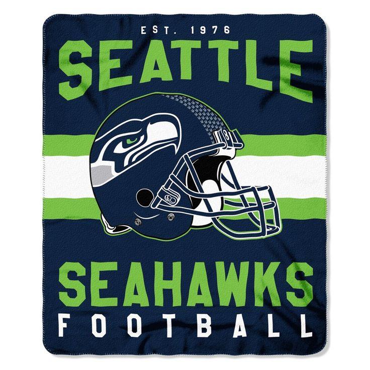"NFL Seattle Seahawks Northwest 50""x60"" Throw Blanket"