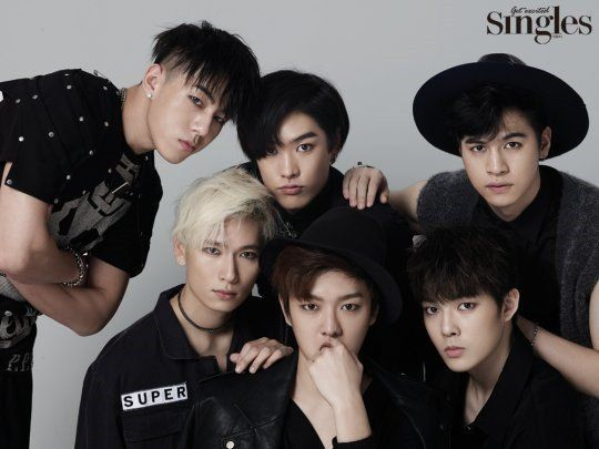 Boy group Cross Gene posed in a pictorial for the February issue of 'Singles' magazine!The concept of the photoshoot was simply black with each member…