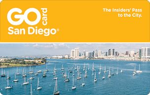 San Diego Go Card information about the card that provides entry to various attractions, giving a discount overall.