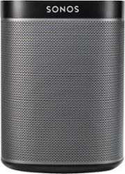 Sonos - PLAY:1 Wireless Speaker for Streaming Music - Black-Front_Standard