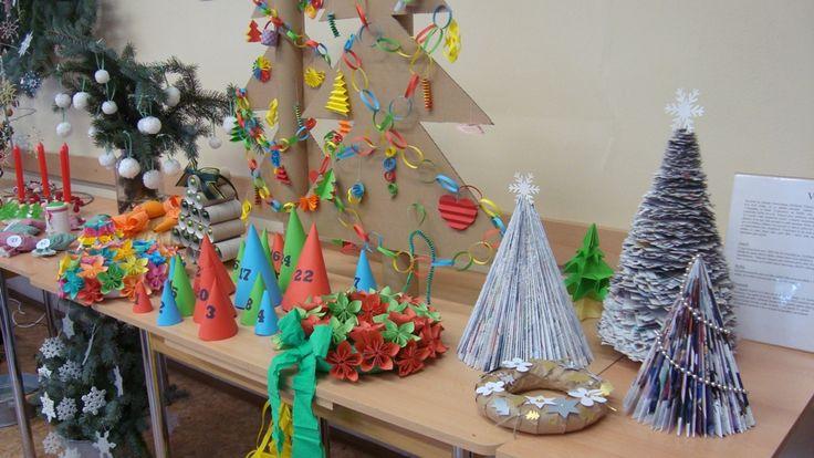 Vánoční Výstava 2012 - Informační Centrum Na Rychtě, Praha Vinoř  ( DIY, Hobby, Crafts, Homemade, Handmade, Creative, Ideas)