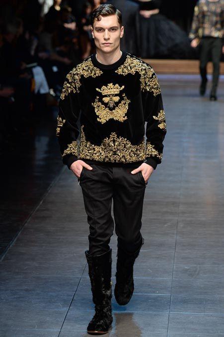 Dolce & Gabbana - Fall 2015 Menswear - Photo: Yannis Vlamos