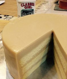 Gula Melaka Kaya Cake