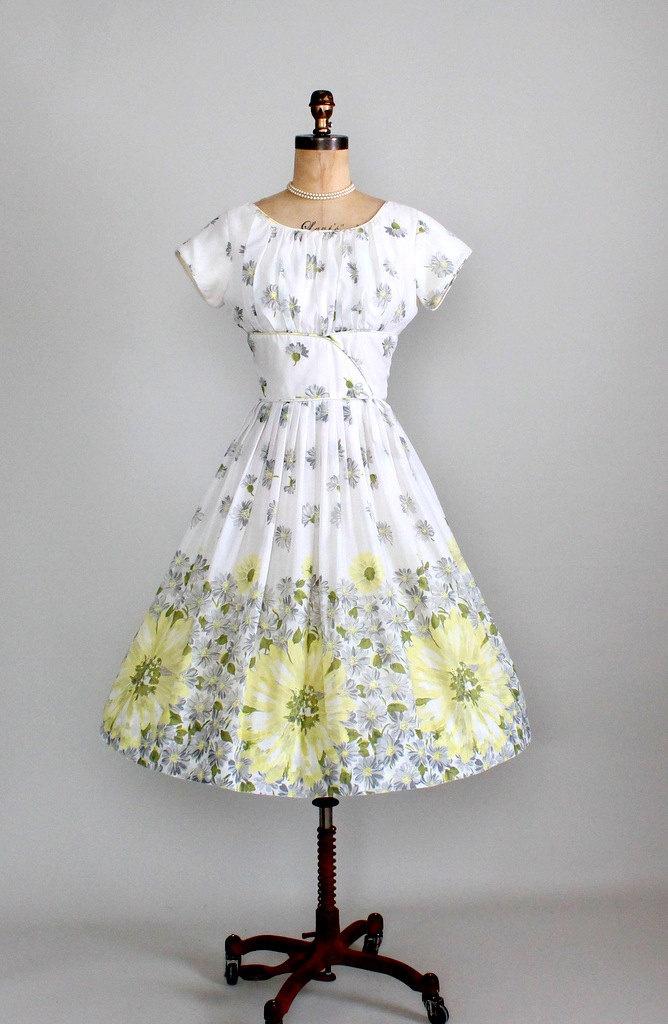 1950's Spring Dress