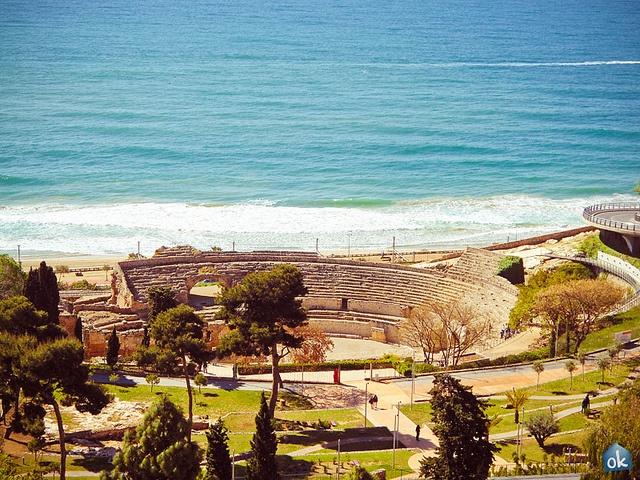Tarragona Amphitheatre by OK - Apartment, via Flickr