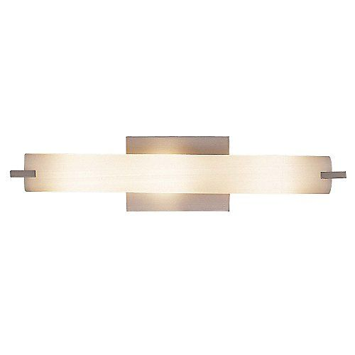 "Tube 5044 Bath Bar by George Kovacs at Lumens.com.  $168 lumens / $126 trade each. 20.5"" w, 4.75"" H (mounted vertically)."