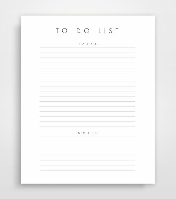 15 best To Do List images on Pinterest - office to do list template