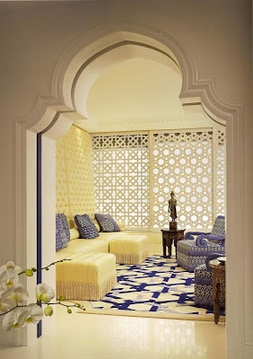 modern moroccan | As you can see in the above photo Bradfield cleverly created a ...