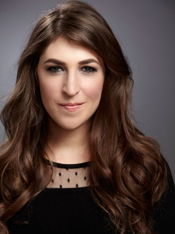 Mayim Bialik - smart, funny, beautiful & can cook! I adore her