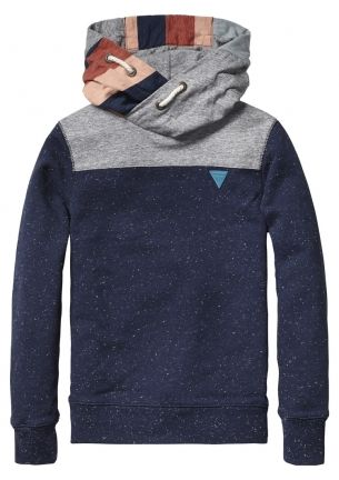 New in: Scotch Shrunk sweat with patchwork for boys | www.eb-vloed.nl