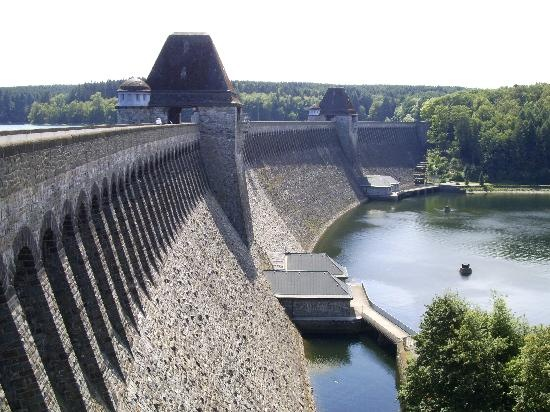 Mohnesee Dam. School trips, family trips. Seen the film and read the book.