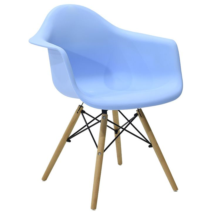 Propylene armchair Julita blue