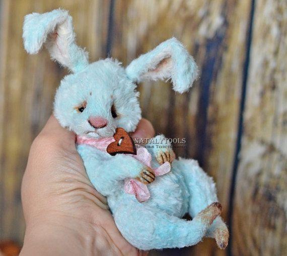 For SALE  hare rabbit Artist Teddy bear OOAK от NatalyTools
