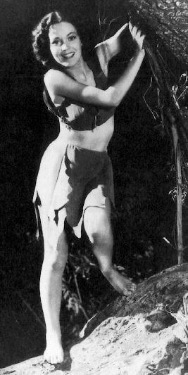 Tarzan Jane  MAUREEN O' SULLIVAN
