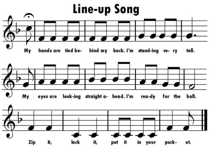Music with Mrs. Dennis: Assessing Music With a Line-Up Song
