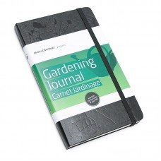 Moleskine Gardening Journal $39.95 - An essential tool to keep any gardener organized, with sections to record pots and tools, gardening log, plant care records, hardiness zones as well as design grids.