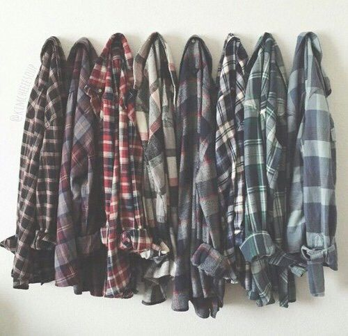Some people will pin this to their style boards... I, on the otherhand, am pinning this to my fandom board... because PLAID