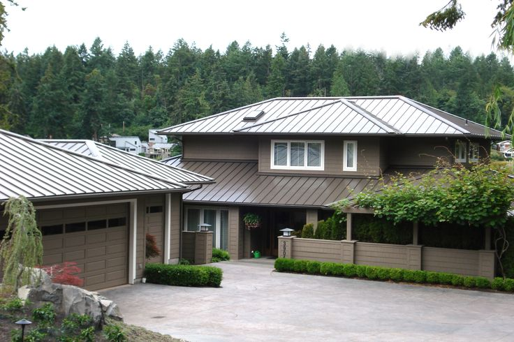 Nice weathered copper roof! Metal roof, Metal siding