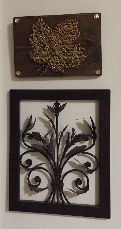 Oh Canada maple leaf string art